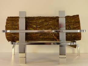 ART-DECO cromo 55 cm